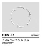 Розетка 6х G77 LILY
