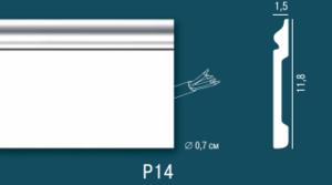 Плинтус Р14